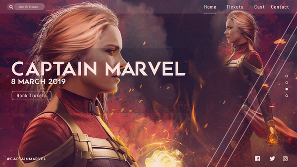 WebUI Captain Marvel